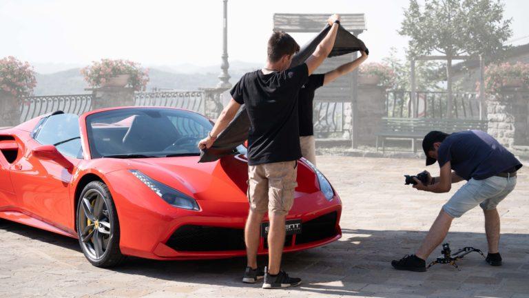 videomaking italia ferrario gh5 lumix drone